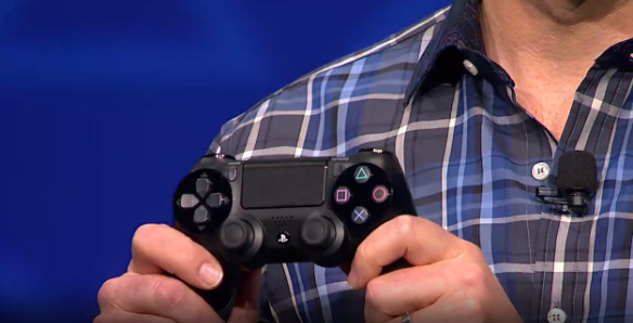 Sony Reveals PlayStation 4 Controller: DualShock4