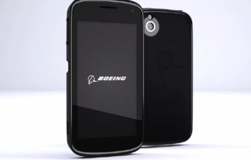 Boeing announces secure, tamper-proof Android 'Boeing Black'