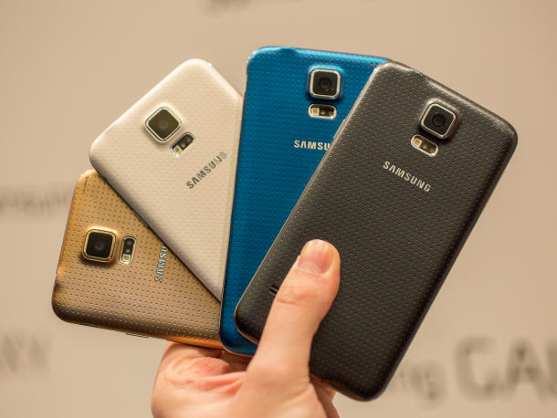 Samsung Galaxy S5 unveiled